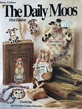Vintage Tole Painting Book: The Daily Mooos First Edition by Rose Calton