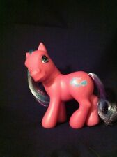 My Little Pony Hasbro 2002 Scooter Sprite G3 Purple Pink With 3 Tone Hair