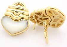 ♦♦♦18kt Damen Gold Ohrclips Ohrringe Ohrstecker Ohr Clips Goldclips Goldohrringe