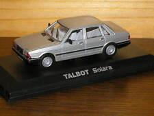 Miniature 1/43 Die Cast NOREV Talbot Solara grise Dernière Pièce