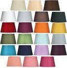 Oaks Lighting Cotton Drum Lamp Shade 6 inch 901/6 BL BL CO CR GR PL RD SG WH