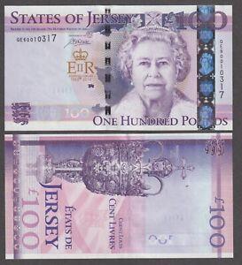 UNC Jersey £100 One Hundred Pound Banknote 2012 Diamond Jubilee Commemorative #1