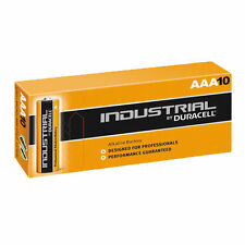 10 X Duracell Industrial AAA Batterie Alcaline mn1500 lr6