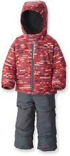 $130 Boy 4T Columbia Frosty Slope Set Winter Coat Bib Pant Snow