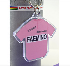 Merckx Faemino Pink 1970 Maglia Rosa Cycling Jersey Keyring Giro d'Italia Rapha