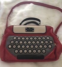 Kate Spade Typewriter All Typed Up Clyde Handbag WKRU1995 Extremely Rare!!!!