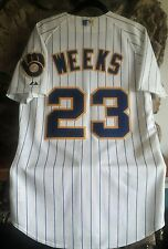 RICKIE WEEKS AUTOGRAPHED JERSEY
