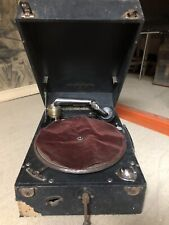 Gramophone Columbia 201 Tourne Disque Ancien En l État Ne Fonctionne Pas