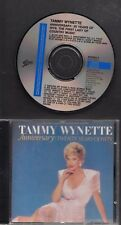 TAMMY WYNETTE Anniversary:Twenty Years Of Hits 1987 CD EPIC AUSTRIA