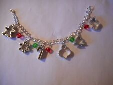 Cookie cutter charm bracelet