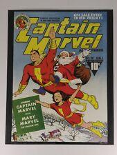 CAPTAIN MARVEL ADVENTURES 19 Wall Art Print 11X14 DC Comics SHAZAM SANTA