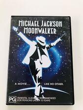 Michael Jackson Moonwalker DVD - Rare - Region 4
