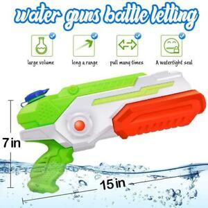 """kids Large Water Gun 40 cm 15"""" Toy Outdoor 35ft shoot Long Range Pistol Toys 1PC"""