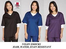 Nylon Smock Shirt Top Groomer Barber Stylist Grooming Hair,Water&Stain Resistant