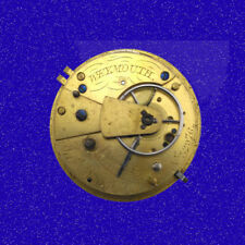 Antique Fairey of Wexmouth KW 12S Fusee 7J Full Plate Pocket Watch Movement 1850