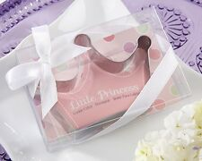 Little Princess Stainless-Steel Crown Cookie Cutters Baby Shower Favor Birthday