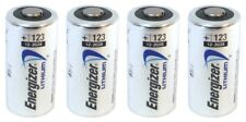 4 X ENERGIZER CR123A CR123 123A LITHIUM BATTERY EXP 2026