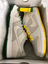Nike SB Zoom Dunk Low Pro Decon QS Ishod Ware White Aloe Verde Size 12 US Men's