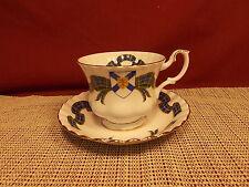 Royal Albert Bone China Nova Scotia Tartan Pattern Cup & Saucer Set