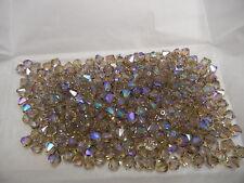 72 swarovski crystal bicone beads,6mm crystal AB luster D #5301