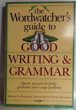MORTON S. FREEMAN - The Wordwatcher's Guide to Good Writing and ** Brand New **