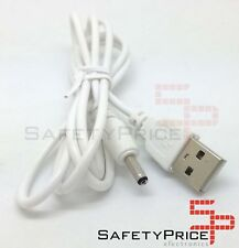 CÂBLE USB CHARGEUR TABLETTE ANDROID BLANC MP3 3.5MM 5V 2A ALIMENTATION DC 1M SP