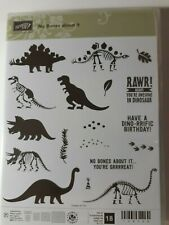 Stampin Up!  NO BONES ABOUT IT 🦖 Cute!  Dinos! RETIRED ***NEW*** Set of 18