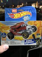 Hot wheels bone shaker MEGA Construx red VHTF Mattel/MEGA brands ⭐ skull Rat Rod