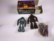 VINTAGE 1985 MIGHTY BEND-A-BOTS UMDA & ZABO IN BOX SPACE ROBOTS