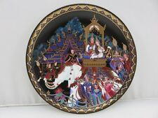 The Love Story Of Siam 6th Issue THE RETURN TO THE THRONE Collector's Plate COA