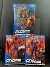 GI. JOE Classified Series Action Figure Trio Set (Red Ninja, Cobra Com, Gung Ho