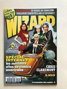 WIZARD Comics Magazine vol 1 #2  French ORIGINAL JOE JUSKO X-MEN MOVIE COVER ART