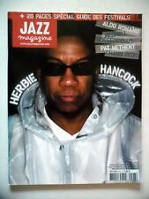 "JAZZ MAGAZINE #527 ""Herbie Hancock,Also Romano,Meshell,Pat Metheny"" (revue)"