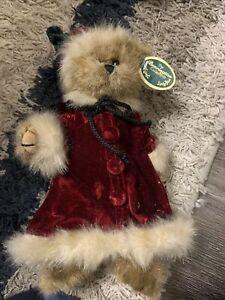 """Bearington Bears """"Miss Eve"""" 10"""" Collector Bear- Sku #1478 - 2004"""
