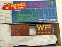 HO scale Roundhouse 40' Box car Western Pacific rib side WP 3416  kit