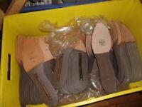 10 Paar Brandsohlen, Schuhmacher, Schuster, Schuhherstellung, gemischte Größen