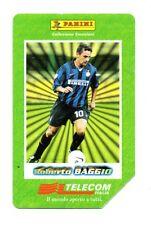 SCHEDA TELEFONICA TELECOM  - I GRANDI ACQUISTI 1998/99 - ROBERTO BAGGIO
