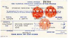 (I.B) Fiji Revenue : Impressed Duty $2.30 (complete document)