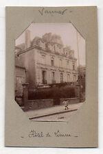 PHOTO - VANNES - Hôtel de Limur - Bretagne Morbihan - Vers 1900