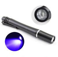 395nM UV Pen Light Flashlight Curing UV Resin Fly Tying Blacklight Mini Torch