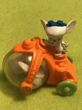 New listing Pinky And The Brain Animaniacs McDonalds Happy Meal Toy 1993 Bike Mice Mouse