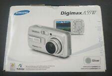 Samsung Digimax A55W Digital Camera w/ Box, Manuals, Carrying Case, Manuals 5.0