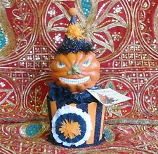 Bethany Lowe Spooky Party Character Box Twisted Jack O'lantern