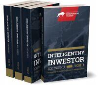 Cezary Gluch - Inteligentny Inwestor XXI wieku. Tomy 1-4  (polish books)
