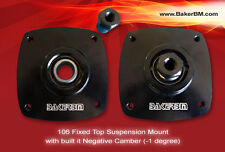 Peugeot 106 Gti Fixed Top Mounts with built in Negative Camber (-1 degree)