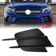 For Benz C Class W205 C200 AMG 2019-Pre Front Bumper Grille Fog Light Trim Cover