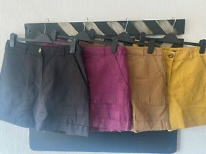 Ladies Marks and Spencer Linen Blend Shorts Sizes 6-20 Brand New
