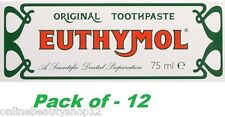 Euthymol Originale Dentifricio 75ml - 12 confezione (scadenza - 2018)
