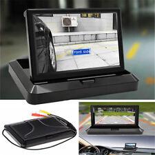 5 Inch Digtal TFT LCD Monitor Foldable Car Rear View Monitor For Camera DVD VCR