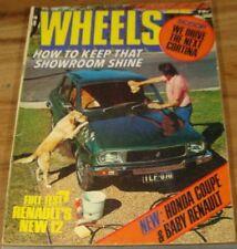 1976.WHEELS.HOLDEN TORANA SS.Lancia BETA.Renault 12.Cortina.GEC 2007 WELTRON Ad